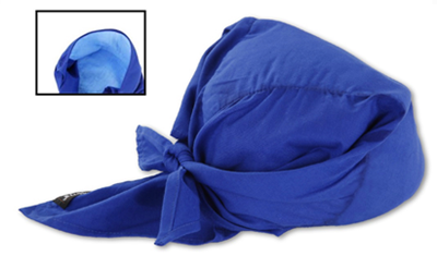 Cooling Triangle Hat  w/Cooling Towel